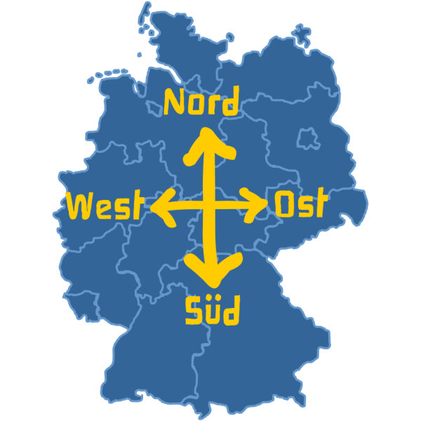 Germany from West to East