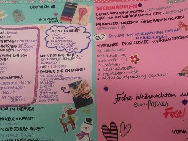 Classwork in German