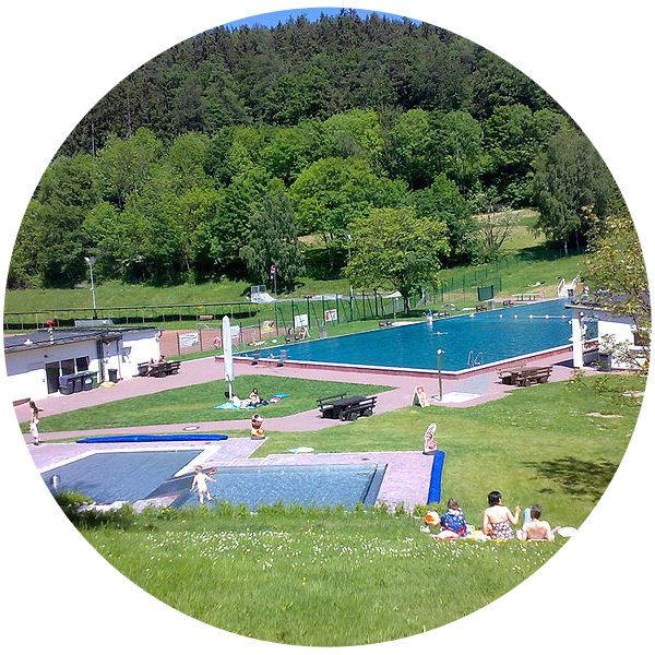 A trip to the Freibad