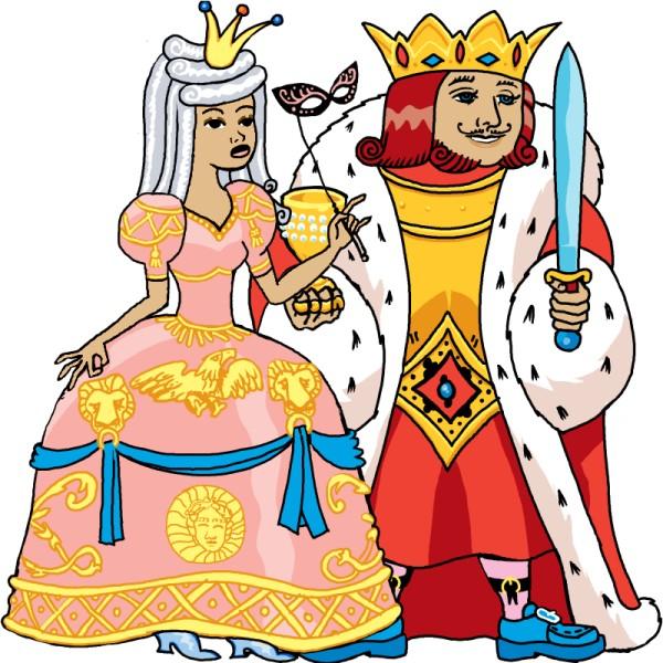Die Königin und der König