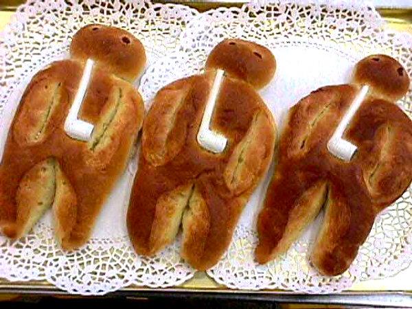 A St. Martin's Day <em>Weckmann</em> - source: Wikipedia
