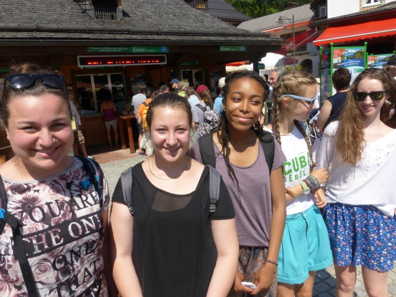 Group of girls working as Au Pairs in Gernamy