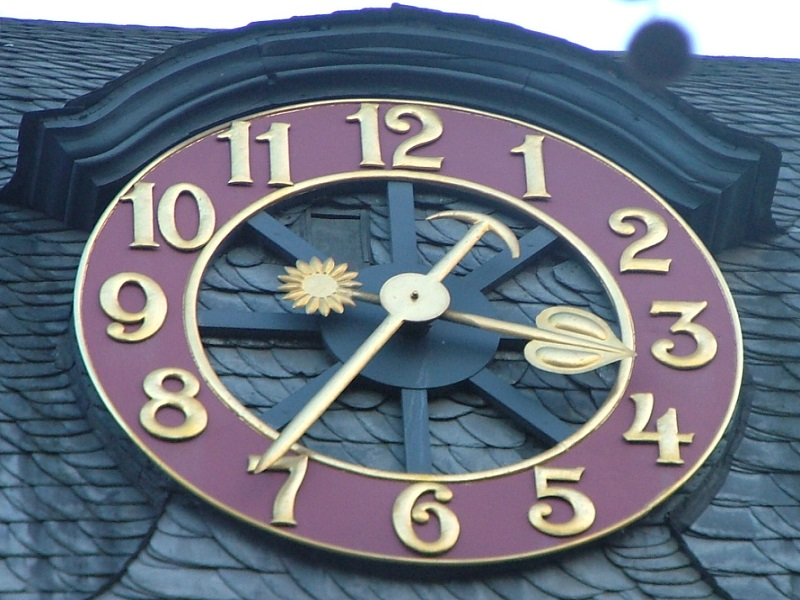 Clock in Bonn