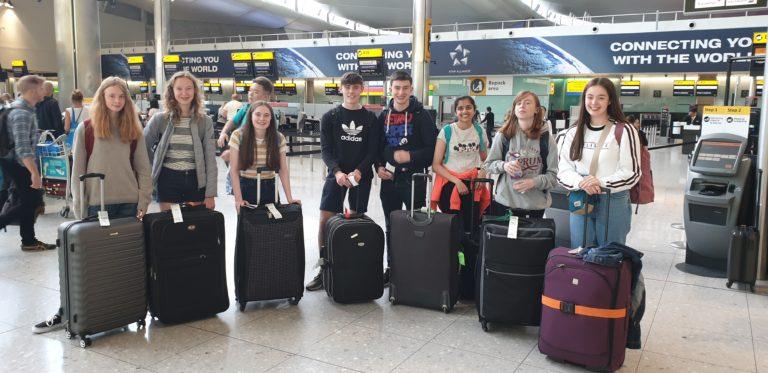 Departure day for GSP participants