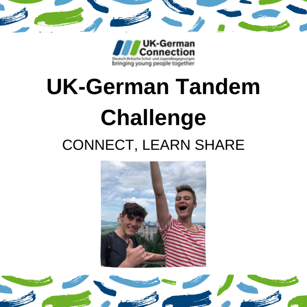 Cultural Snapshots from the UK-German Tandem Challenge